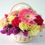 B2 : กระเช้าดอกไม้ 850 บาท