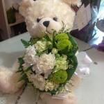 A1A : ดอกไม้ตุ๊กตาหมี 500 บาท